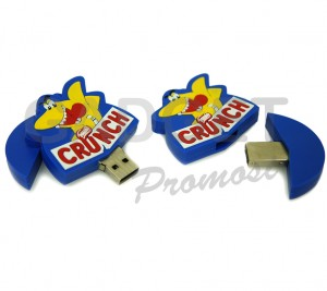 Crunch Rubber USB