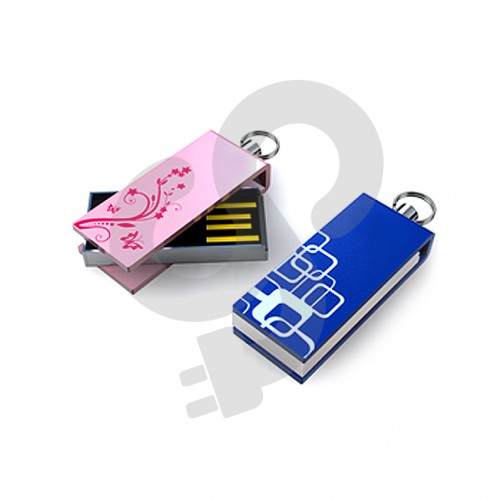 Mini Twister Rectangle USB Drive USB-0104