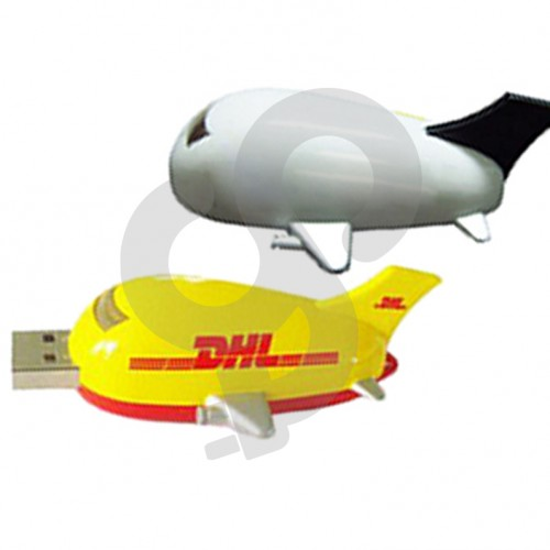 Aeroplane Shaped USB Drive USB-0904