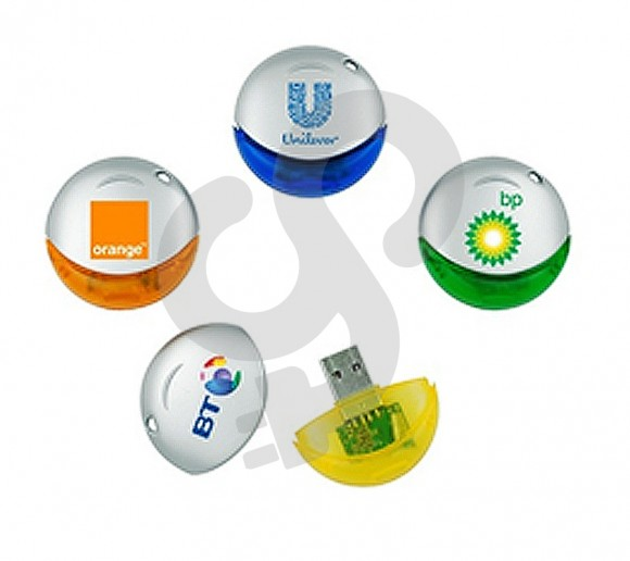 Oval Shaped USB Drive USB-0909