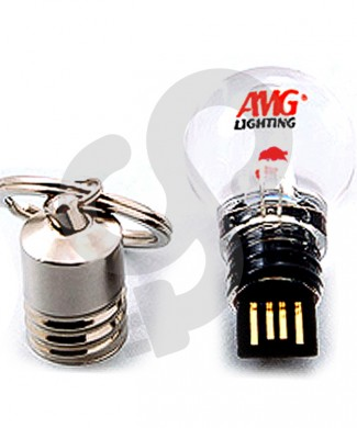 Light Bulb Shaped USB Drive USB-0912