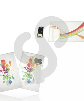 Transparent Credit Card USB USB-0807